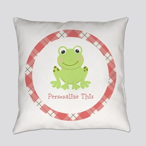 Cute Frog personalized Everyday Pillow