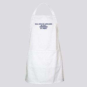 Real Estate Appraiser by day BBQ Apron