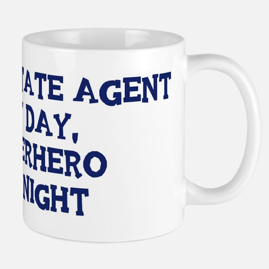 Real Estate Agent by day Mug