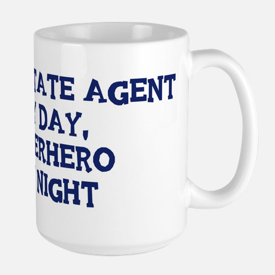 Real Estate Agent by day Large Mug