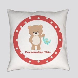 Cute Bear personalized Everyday Pillow