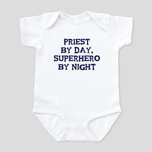 Priest by day Infant Bodysuit