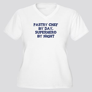 Pastry Chef by day Women's Plus Size V-Neck T-Shir