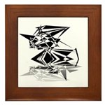 Futuristic Collection Framed Tile