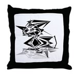 Futuristic Collection Throw Pillow