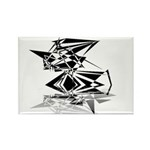 Futuristic Collection Rectangle Magnet (100 pack)