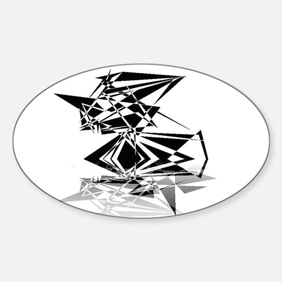 Futuristic Collection Oval Decal