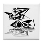 Futuristic Collection Tile Coaster