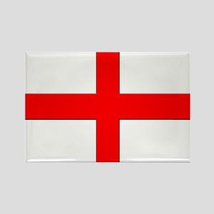 England St. George Cross Flag Rectangle Magnet
