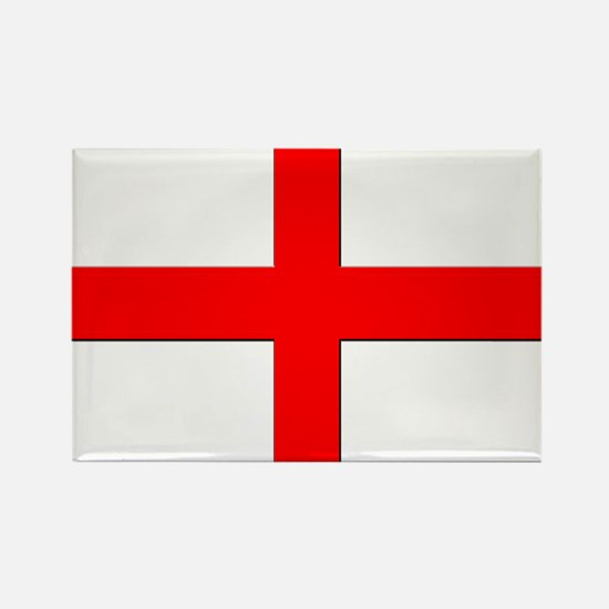 England St. George Cross Flag Rectangle Magnet