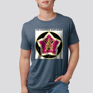 DUI - 2nd Engineer Bn with Tex T-Shirt