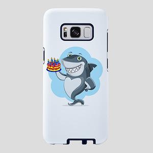 Shark It's My Birthday Samsung Galaxy S8 Case
