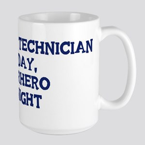 Pharmacy Technician by day Large Mug