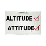 *New Design* Attitude-Check! Rectangle Magnet (100
