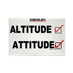 *New Design* Attitude-Check! Rectangle Magnet (10