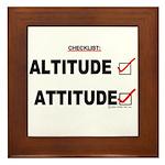 *New Design* Attitude-Check! Framed Tile