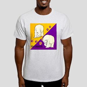 Go Polar Bears Ash Grey T-Shirt