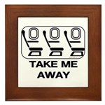 *NEW DESIGN* Take Me Away Framed Tile