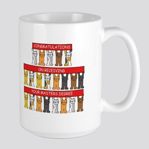 Congratulations on Receiving your Masters Deg Mugs