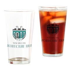 NOLA Architecture Tours Logo Drinking Glass
