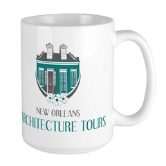 NOLA Architecture Tours Logo Mugs
