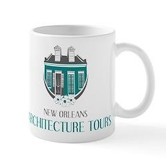 NOLA Architecture Tours Logo Mugs