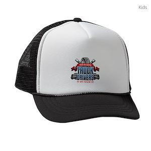 Truck Drivers Kids Trucker Hats - CafePress 1befe6361d65