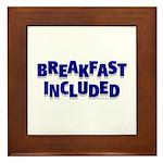 *NEW DESIGN* Breakfast INCLUD Framed Tile