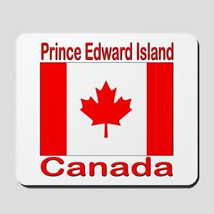 P.E.I. Flag Canada Mousepad