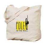 Pole In The Wall Color Tote Bag