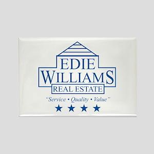 Edie Williams Real Estate Rectangle Magnet