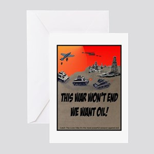 This war won't end Greeting Cards (Pk of 10)