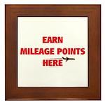 *NEW DESIGN* Earn Points Here Framed Tile