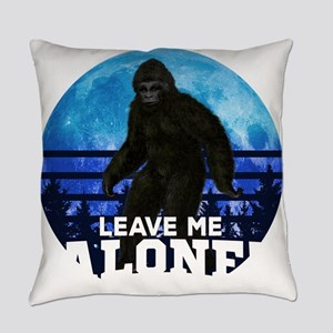 Bigfoot Leave Me Alone Hide & Everyday Pillow
