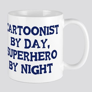 Cartoonist by day Mug