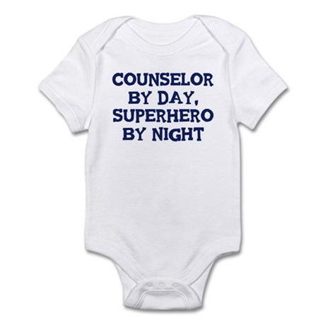 Counselor by day Infant Bodysuit