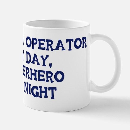 Camera Operator by day Mug