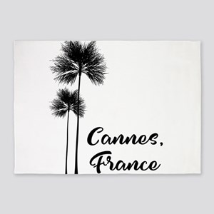 Cannes France Holiday Gift for Film 5'x7'Area Rug