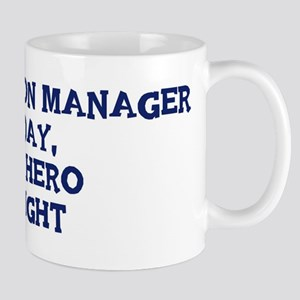 Construction Manager by day Mug