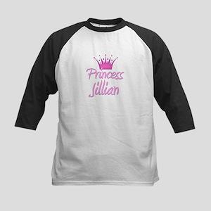 Princess Jillian Kids Baseball Jersey