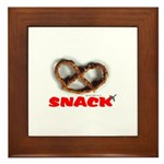 *NEW DESIGN* Snack! Framed Tile