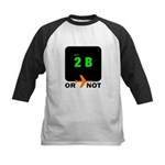 *NEW DESIGN* 2 B or...NOT to  Kids Baseball Jersey