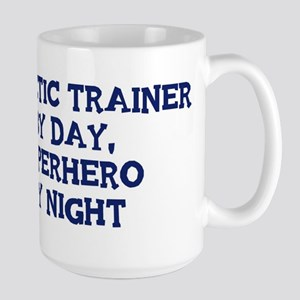 Athletic Trainer by day Large Mug