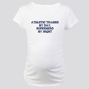 Athletic Trainer by day Maternity T-Shirt