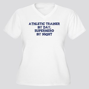 Athletic Trainer by day Women's Plus Size V-Neck T