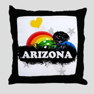 Sweet Fruity Arizona Throw Pillow