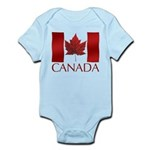 Canadian Flag Infant Bodysuit Baby Souvenir
