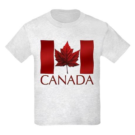 Canada Souvenir Kids T-shirt Canadian Flag Shirt