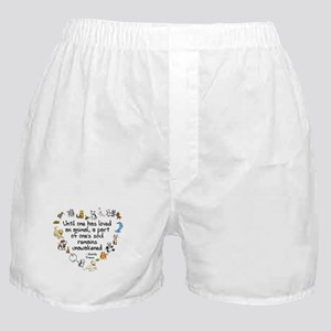 Until One Has Loved An Animal Boxer Shorts