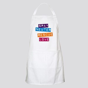 Spay Neuter Rescue Love BBQ Apron